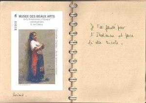 L'auteur aussi de la Bouquetière italienne, inconnu au bataillon des peintres, aujourd'hui.